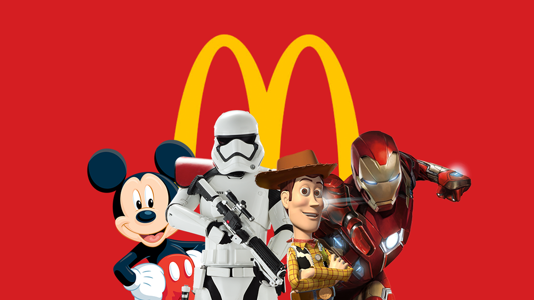 McDonald's e Disney anunciam parceria de cinco anos
